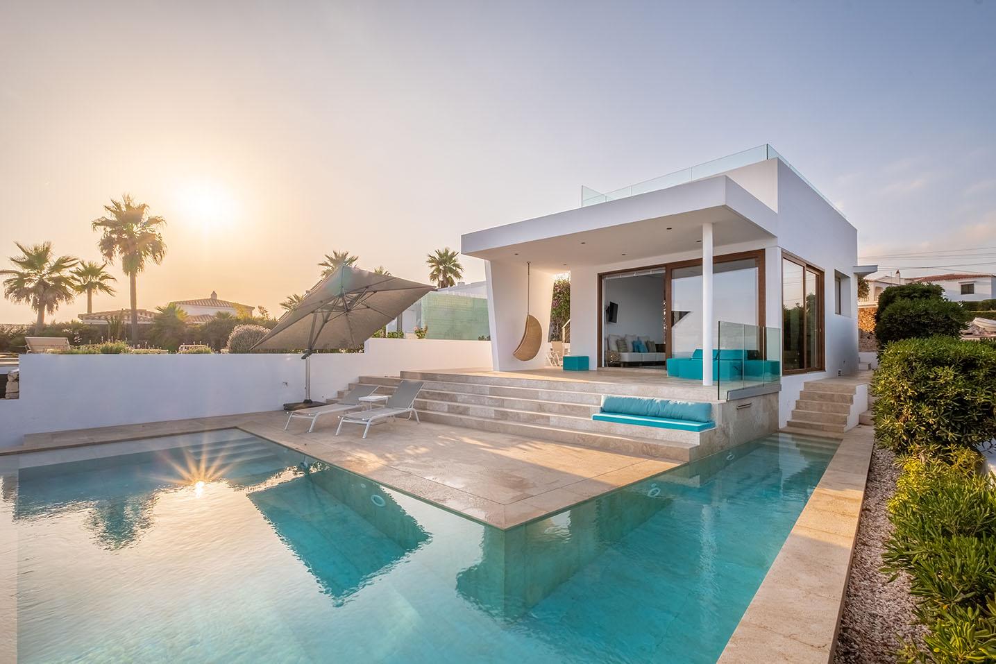 Villa di lusso a Minorca con vista sul mare