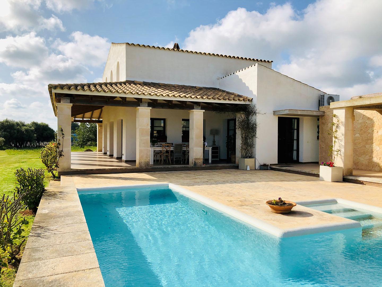 Villa in affitto a Binidali Menorca con 3 camere da letto