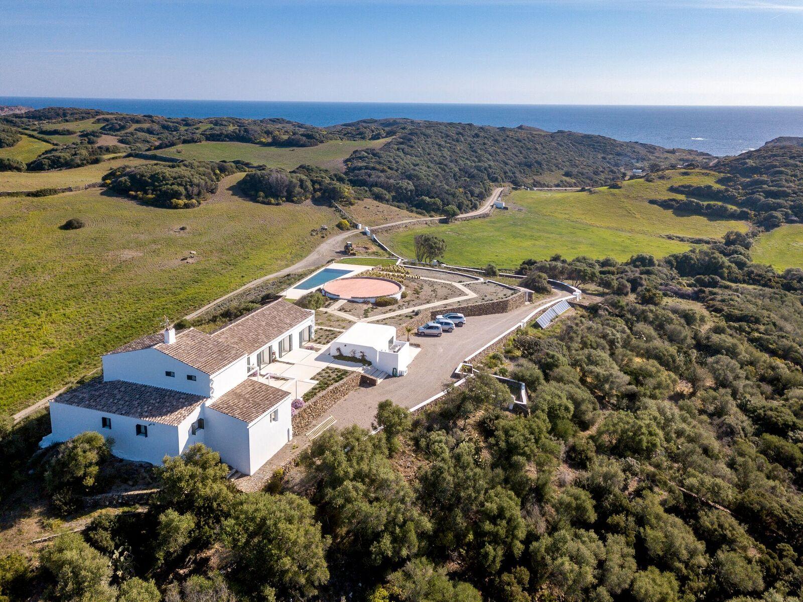Tenuta di campagna di lusso con spiaggia privata