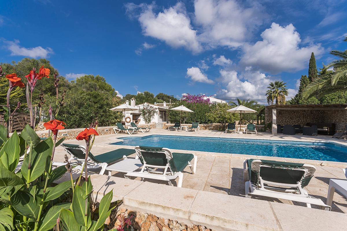 Villa segreta e privata in affitto a Minorca
